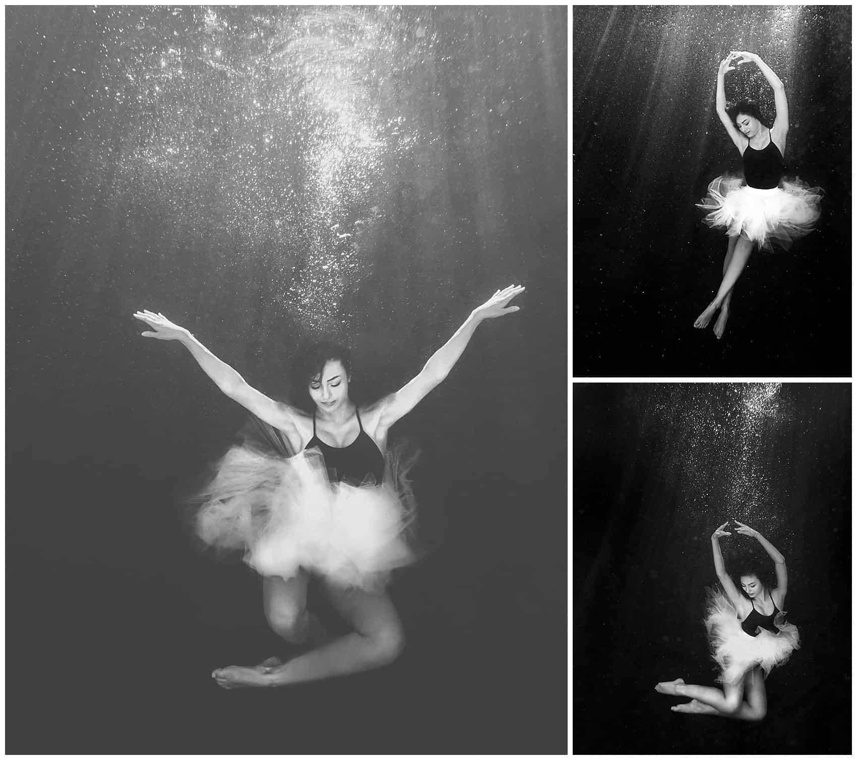 underwater photography ballerina denver colorado photographer