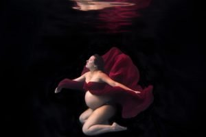 Underwater Maternity Photographer Denver Colorado