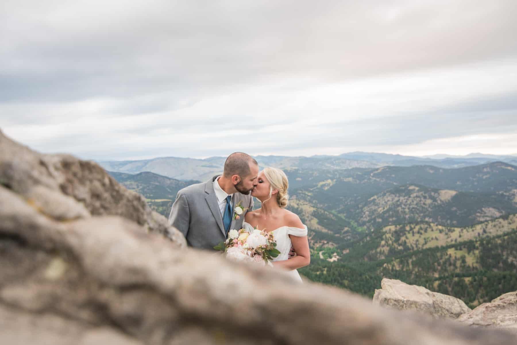 Kayla & Jason's Rocky Mountain Adventure Wedding in Boulder, Colorado