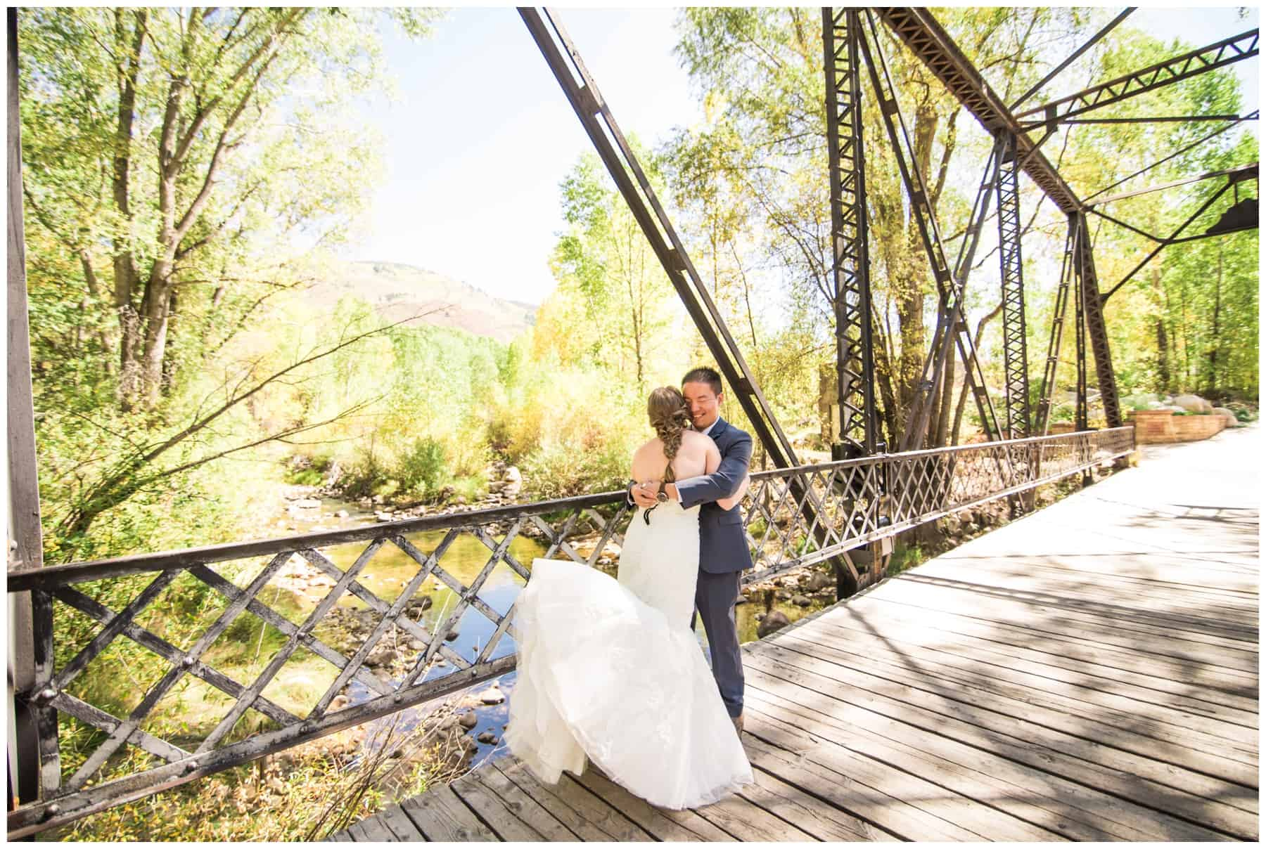 wedding at john denver sanctuary aspen co