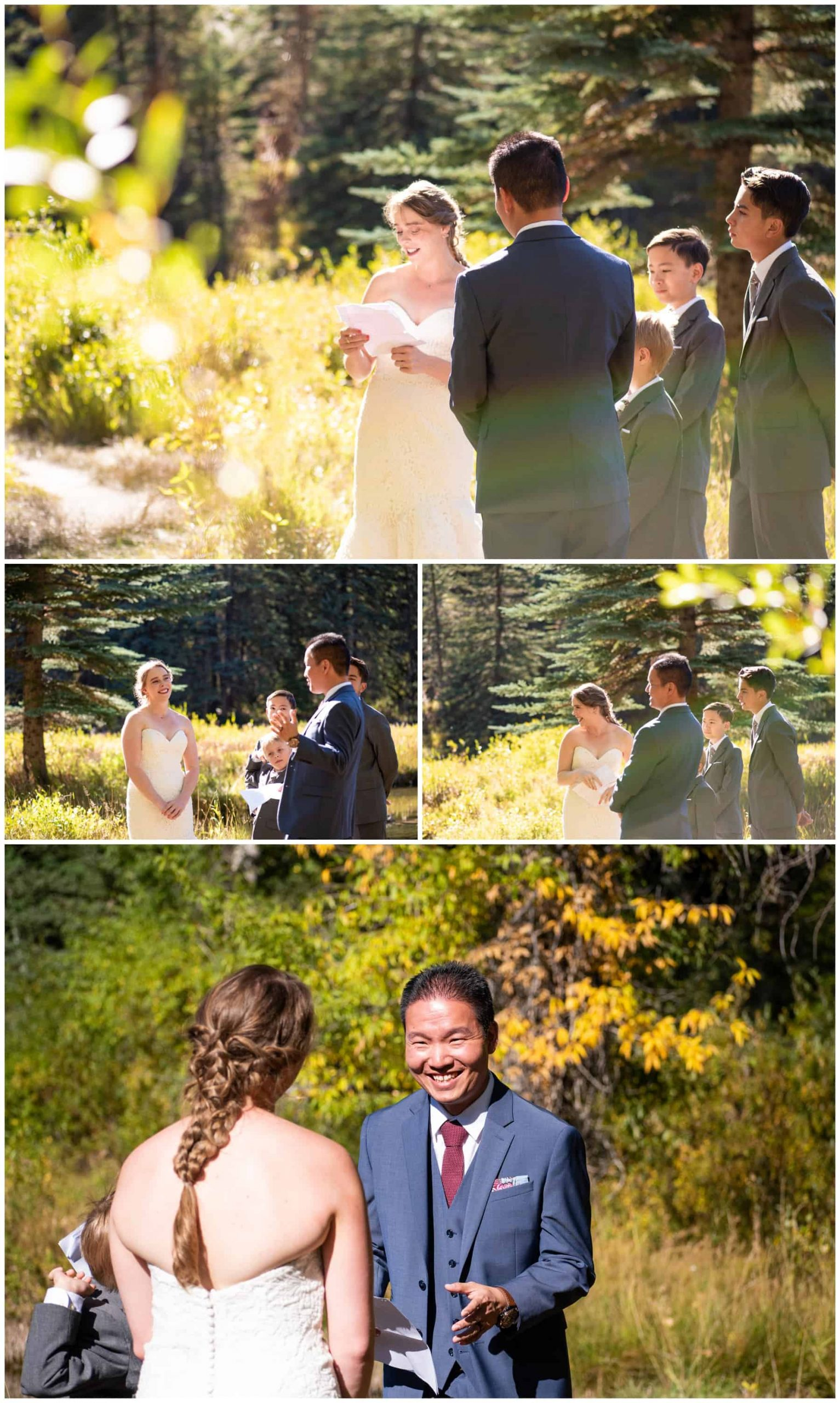 hallam lake ACES wedding photographer aspen