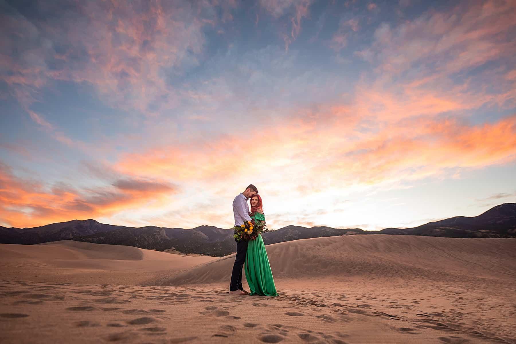 sand dunes national park elopement photographer in colorado