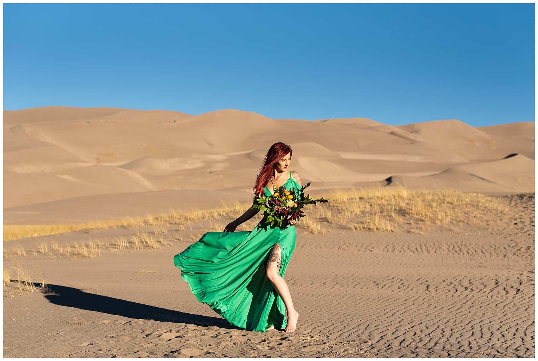 sand dunes elopement photographer