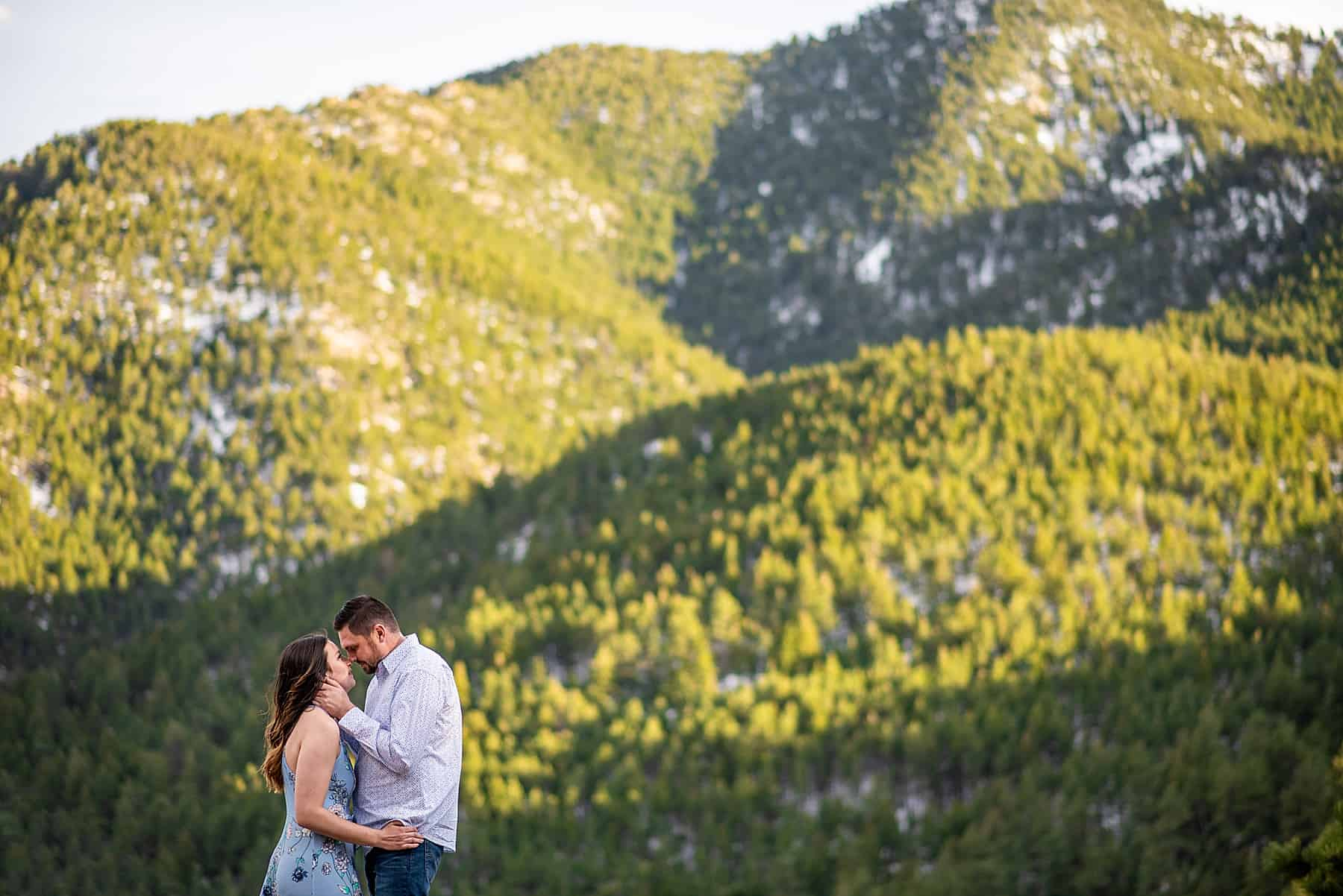 Flagstaff Mountain Engagement Session