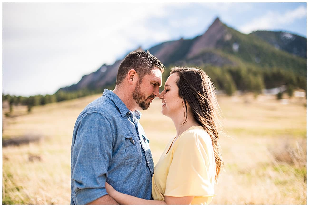 chautauqua park engagement photographer boulder