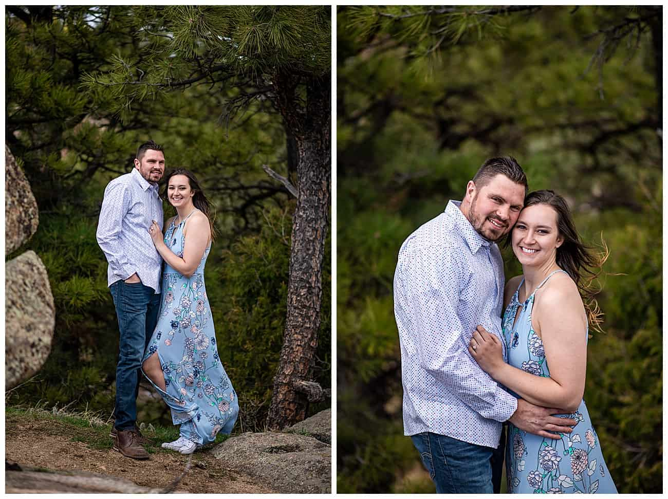 flagstaff mountain engagement