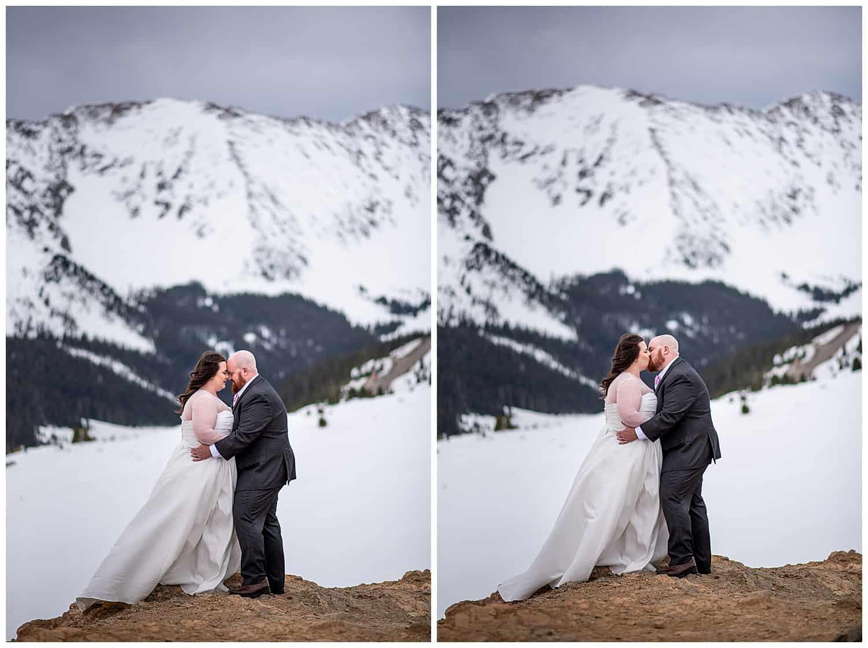 loveland pass colorado elopement photographer