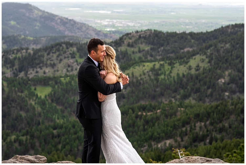 adventure wedding photographer in boulder colorado