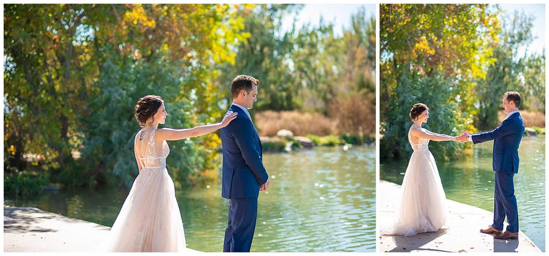 coot lake boulder wedding