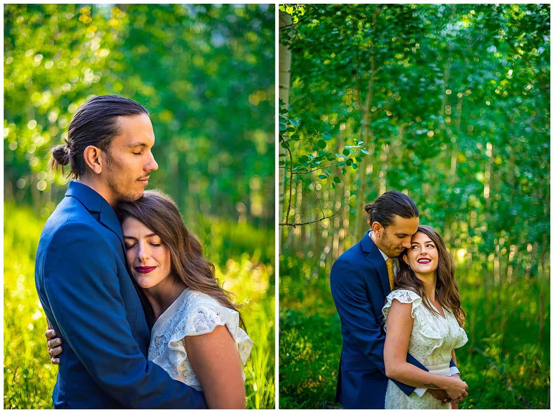 aspen elopement photographer maroon bells