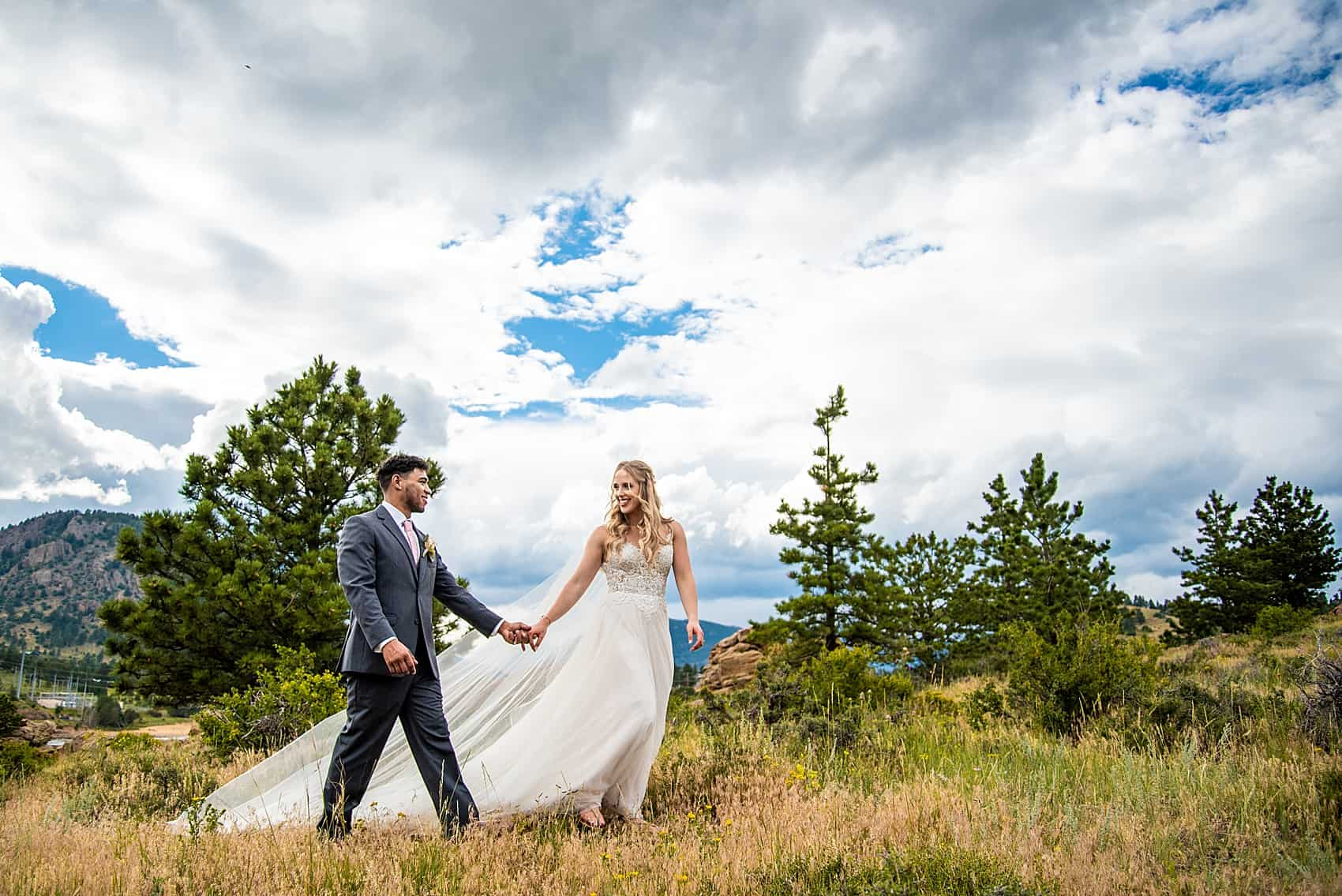 estes park wedding photographer skyview at fall river village