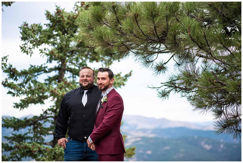 flagstaff mountain elopement boulder photographer