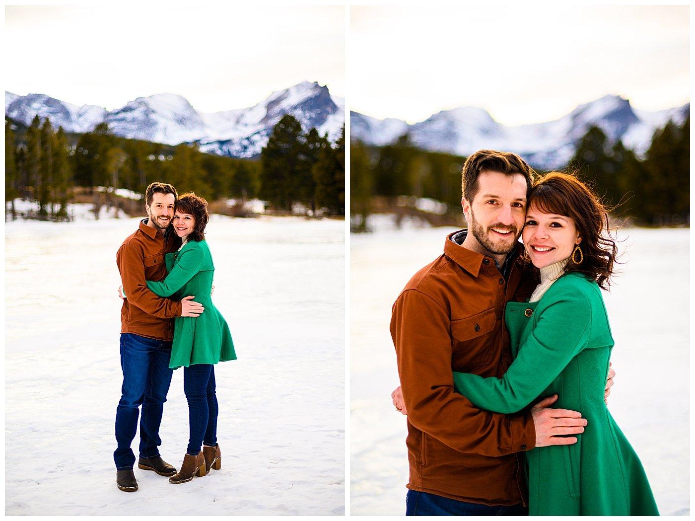engagement photos sprague lake