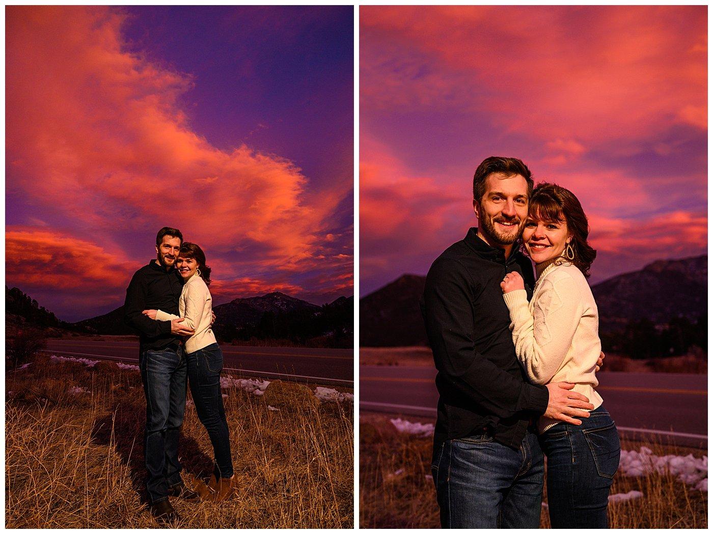 colorado elopement photographer estes park
