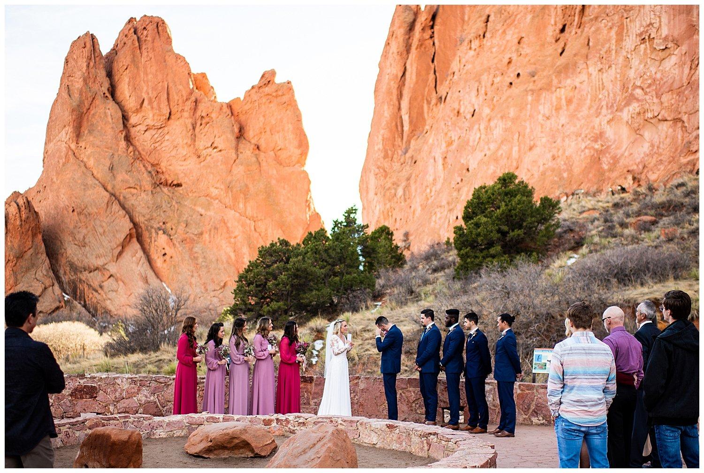 jaycee plaza garden of gods elopement photographer