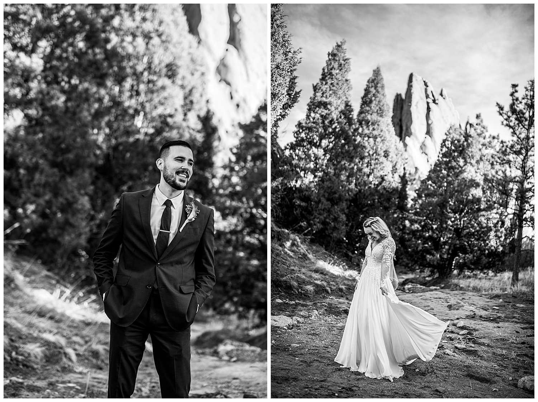 garden of the gods elopement photographer