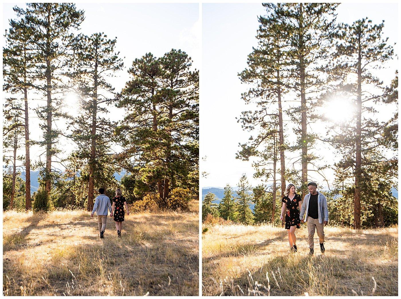 mt falcon engagement photos