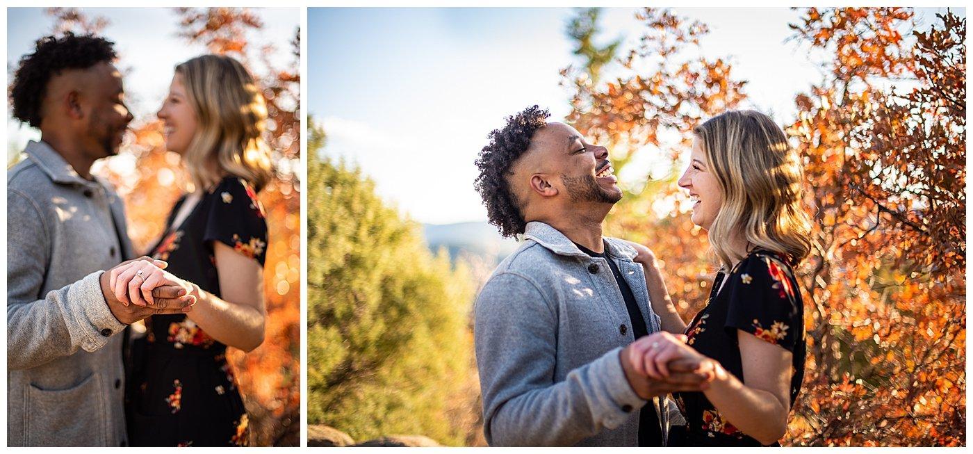 best places for engagement photos near denver