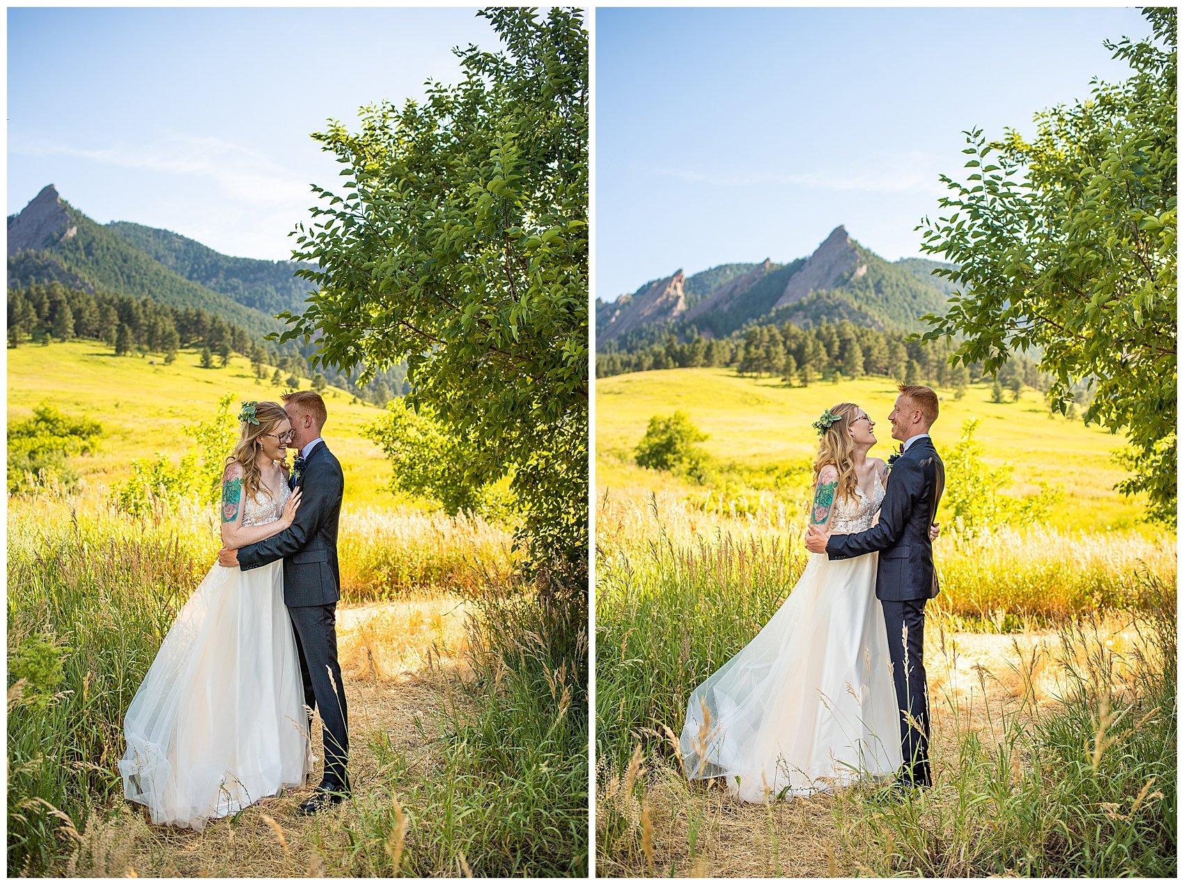 chautauqua elopement boulder photographer