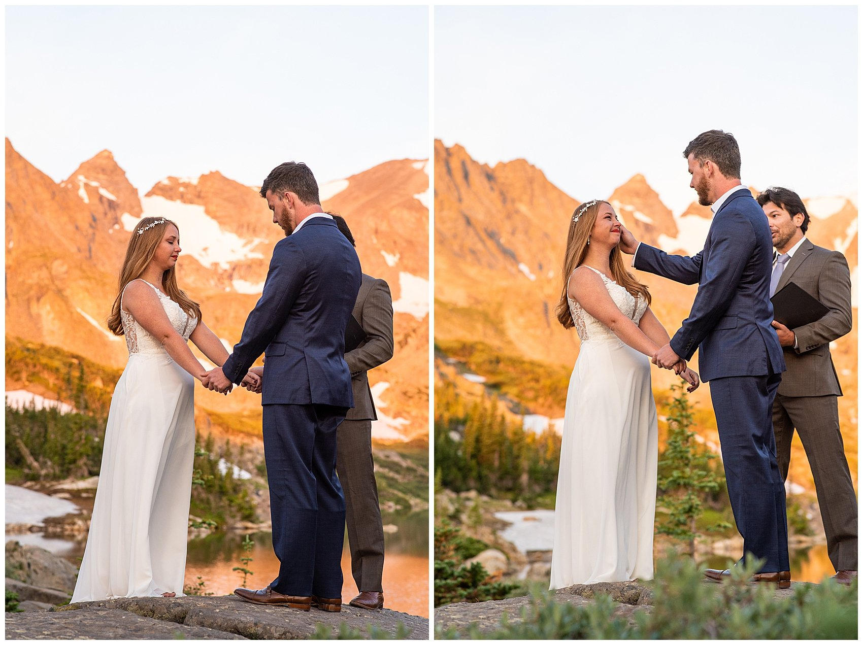 lake isabelle colorado elopement photographer