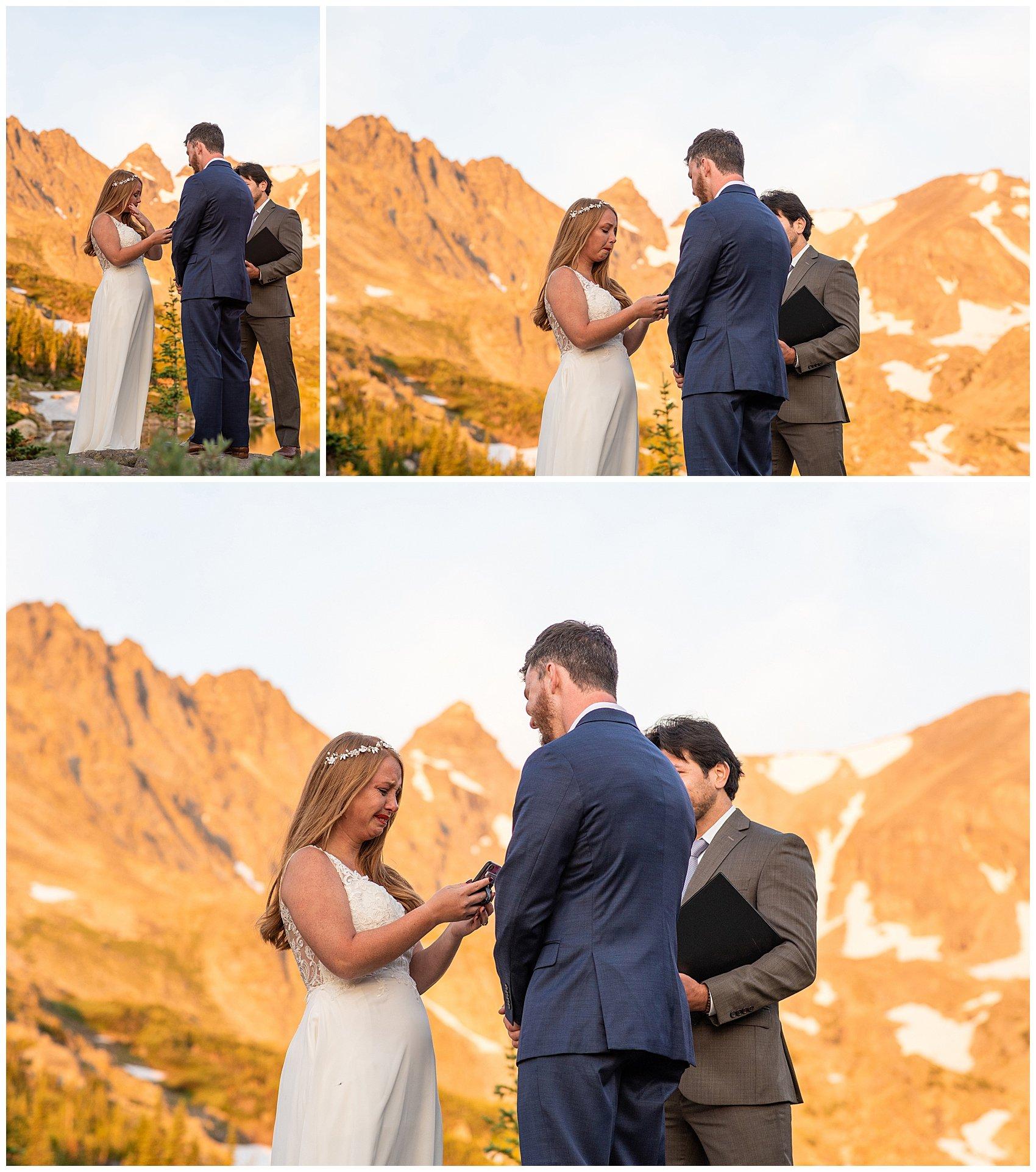 hiking elopement colorado photographer