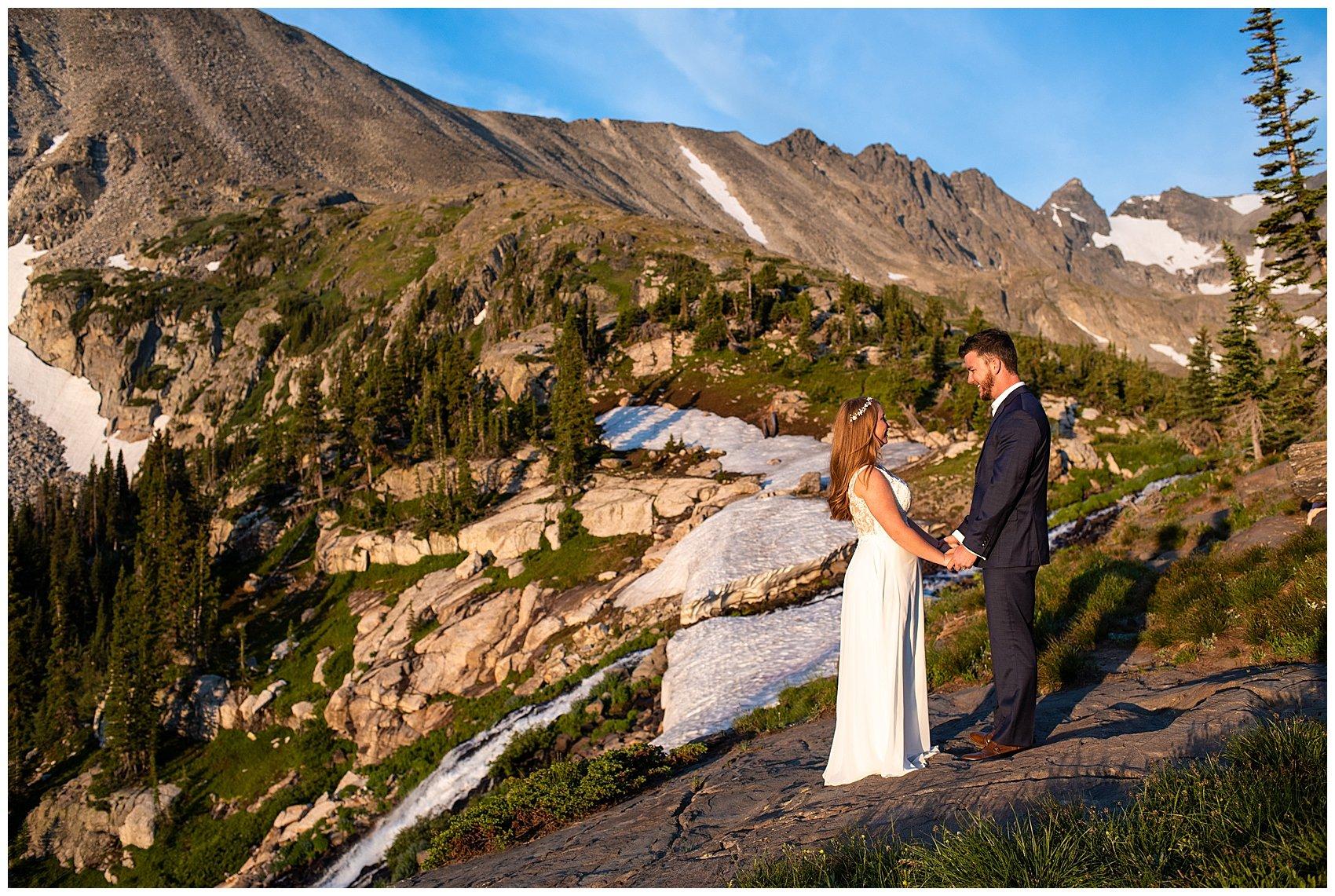 lake isabelle colorado elopement photographer