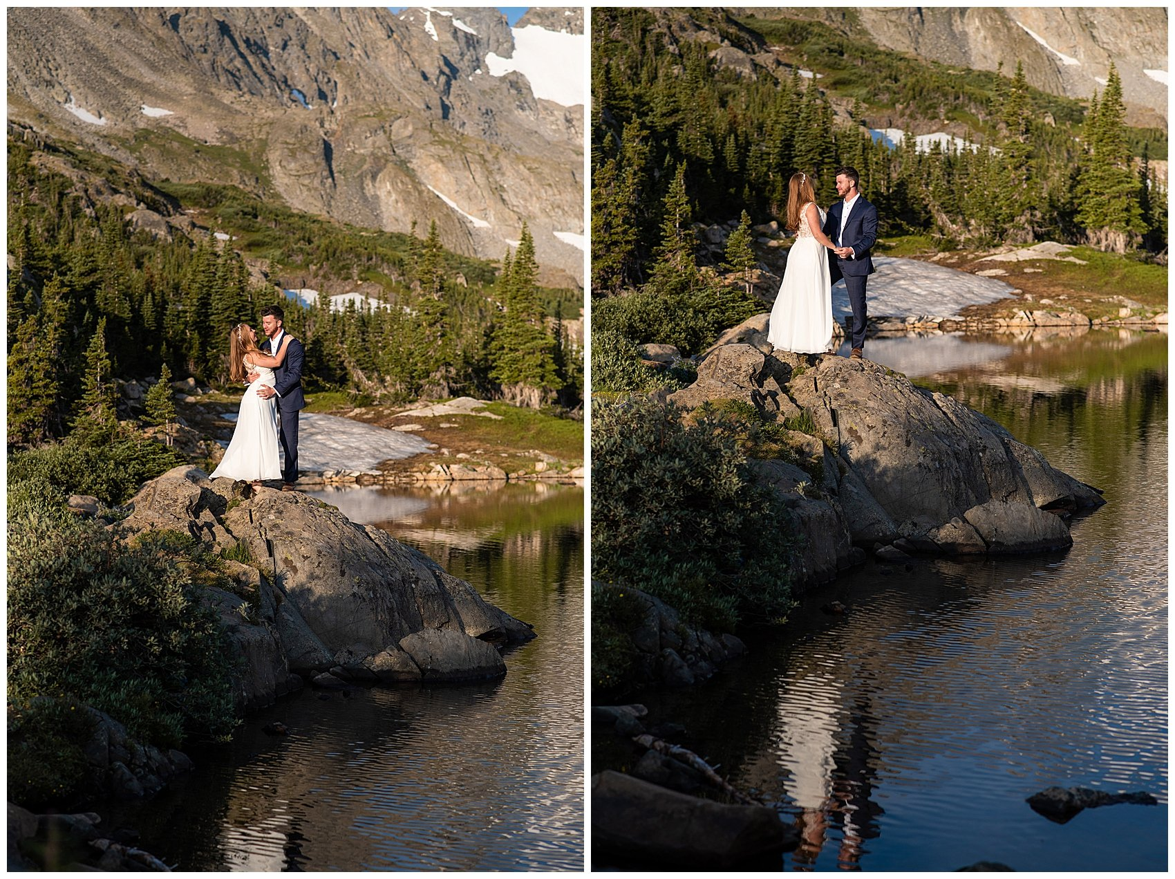 lake isabelle best places to elope in colorado