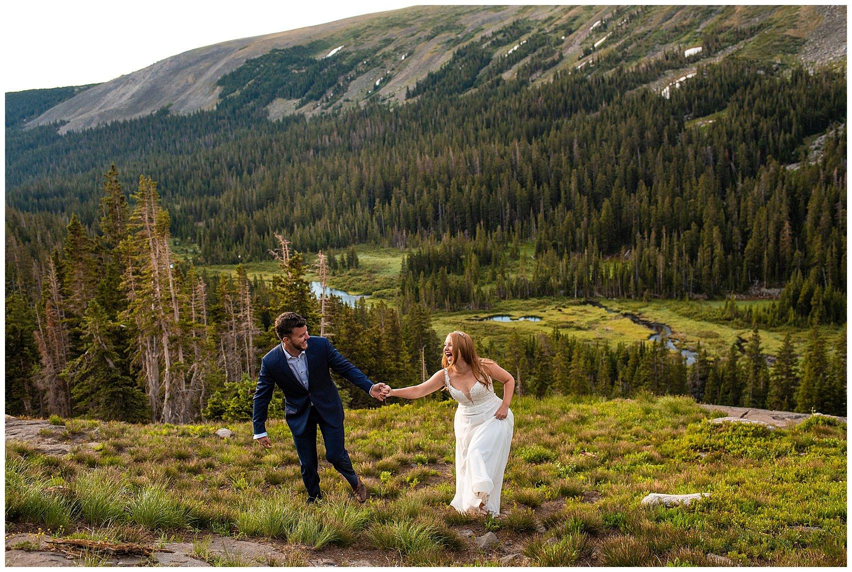 colorado hiking elopement photographer