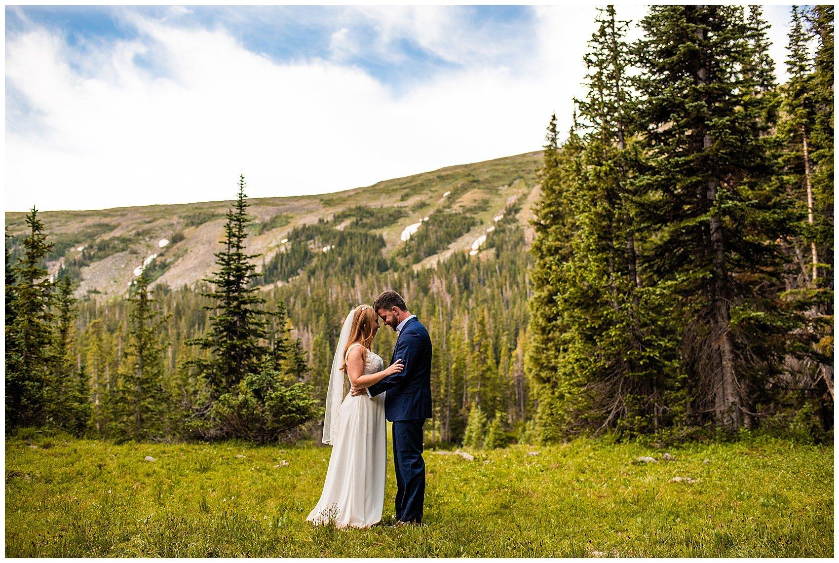 indian peaks wilderness elopement colorado