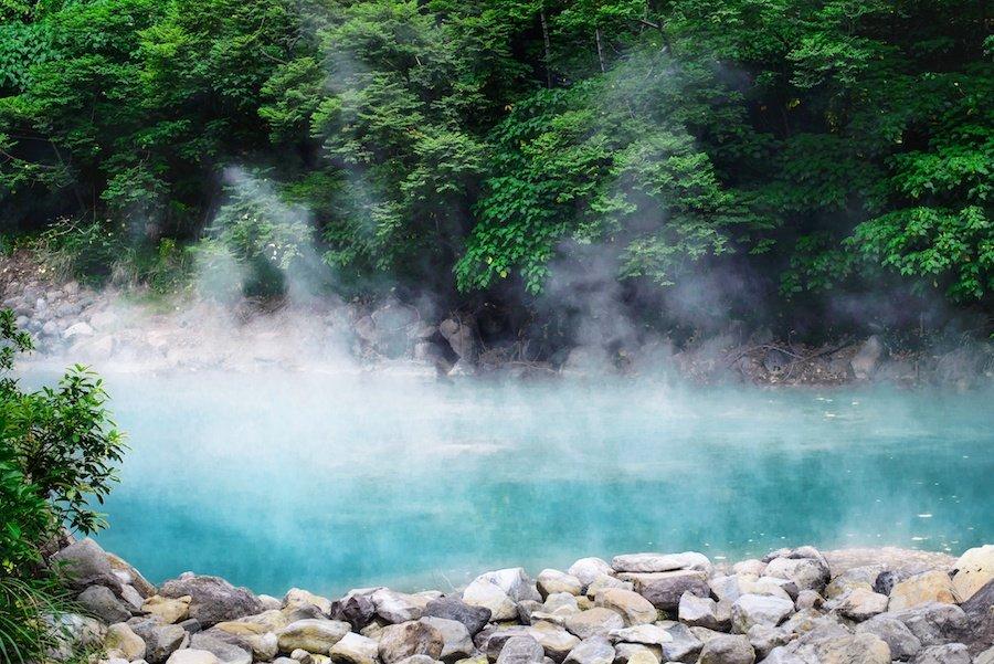 hot spring elopement idea