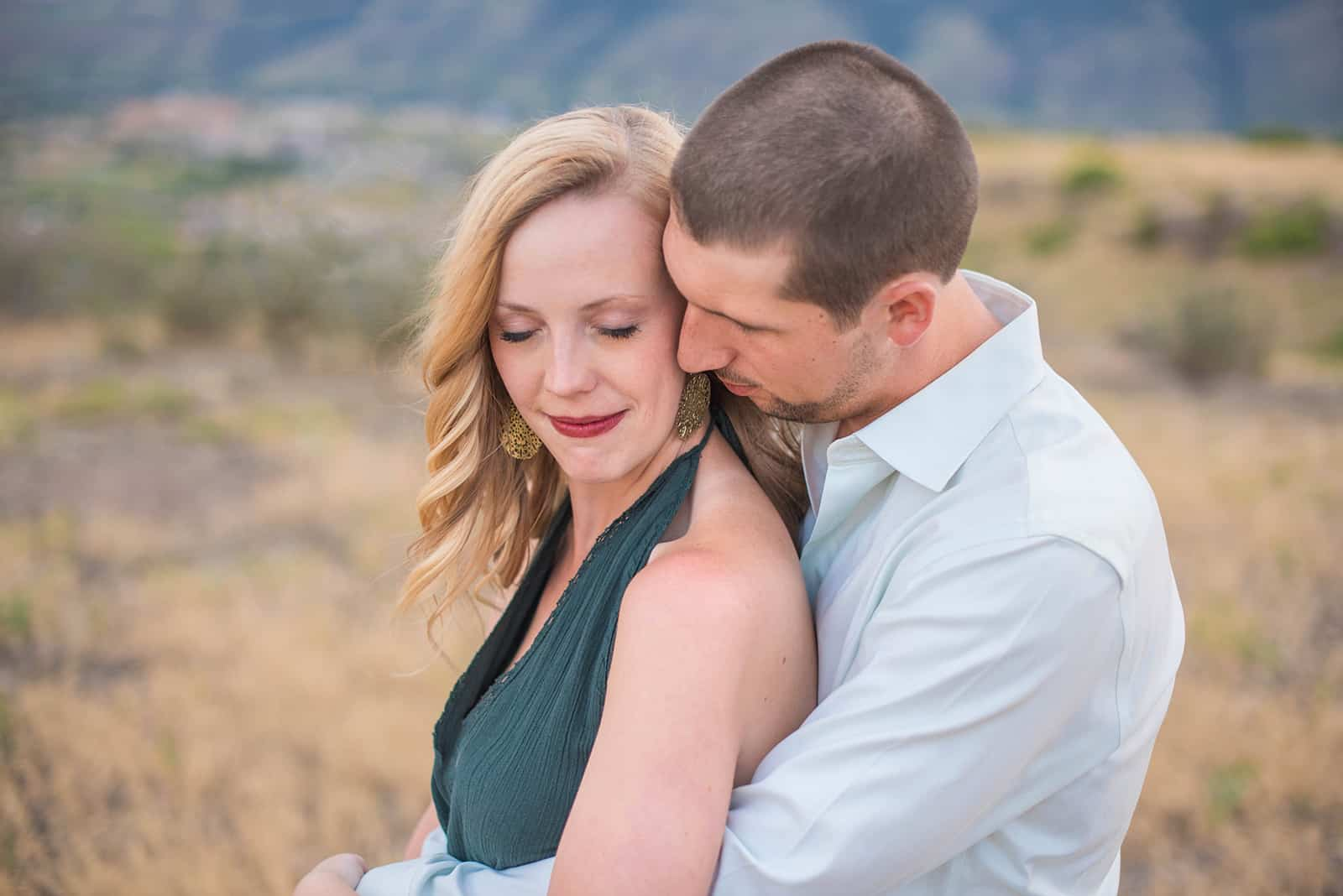 South Table Mountain Engagement Colorado Wedding Photographer