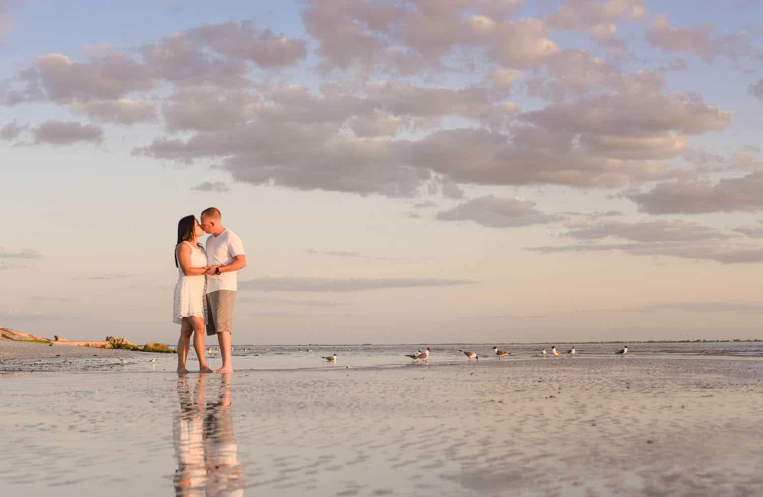 best places to elope in florida fort desoto
