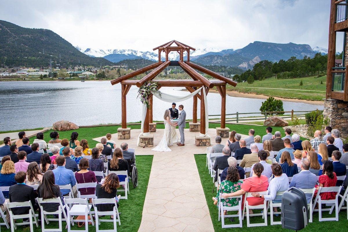 estes park resort wedding venue