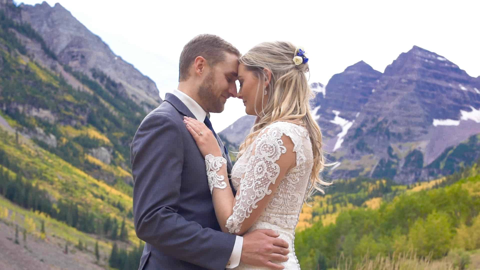 maroon bells aspen wedding videographer
