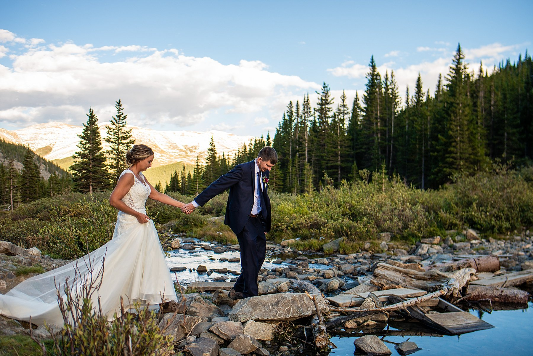 best places to elope in colorado with water and mountains
