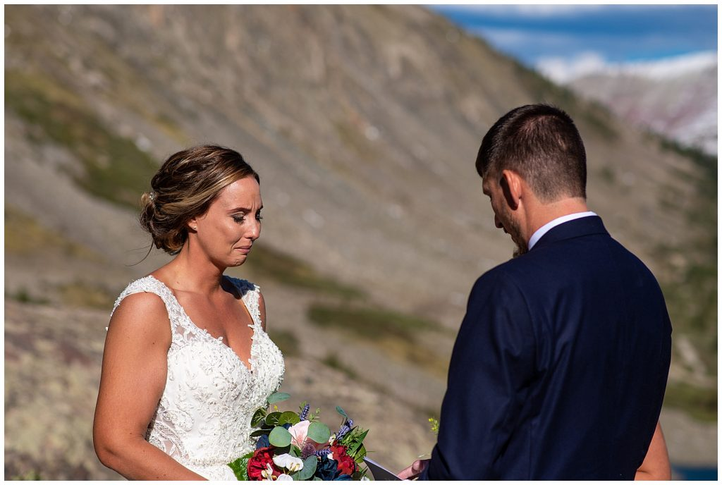blue lakes breckenridge elopement photographer