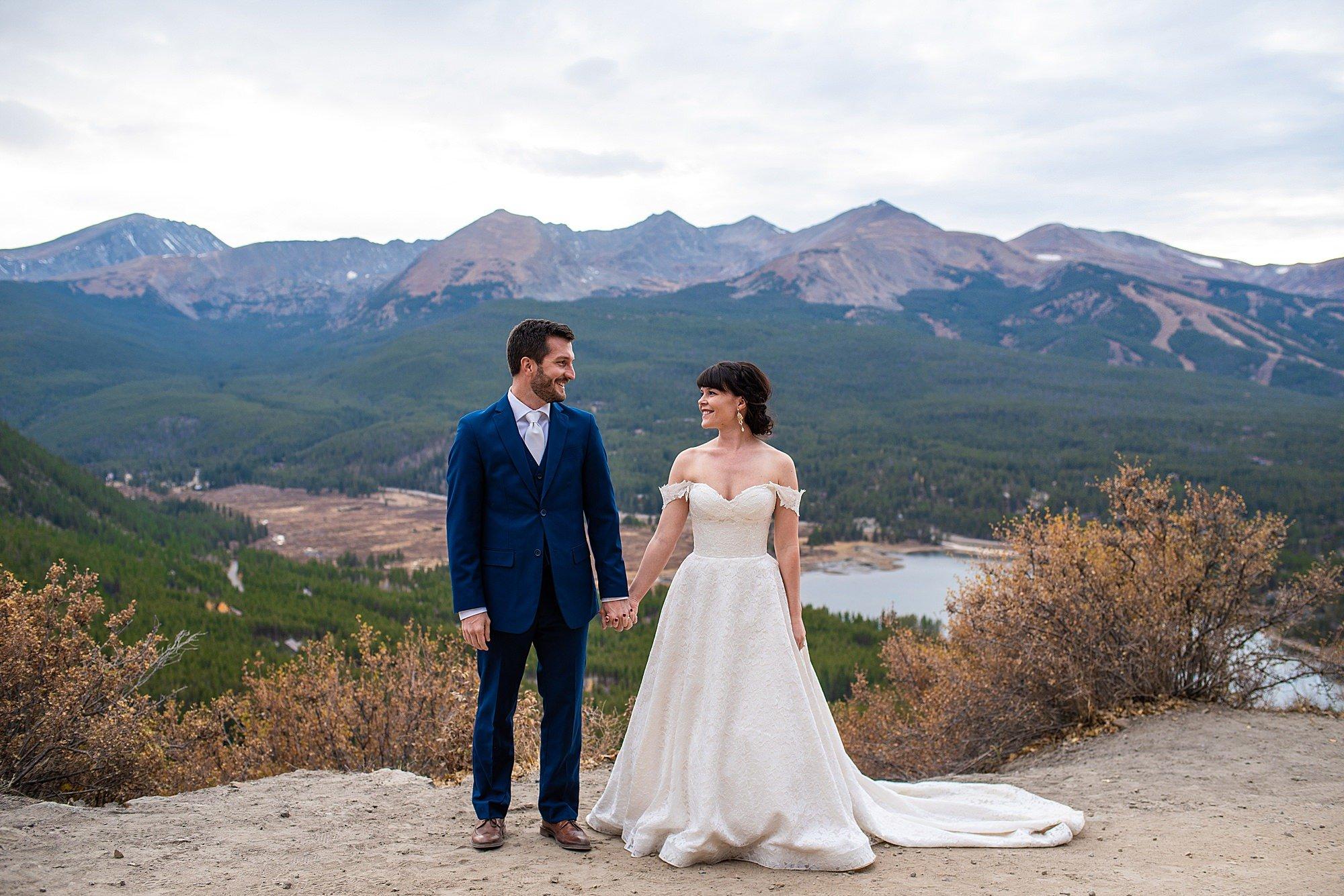 Boreas Pass Wedding Photos | Breckenridge Elopement Photographer