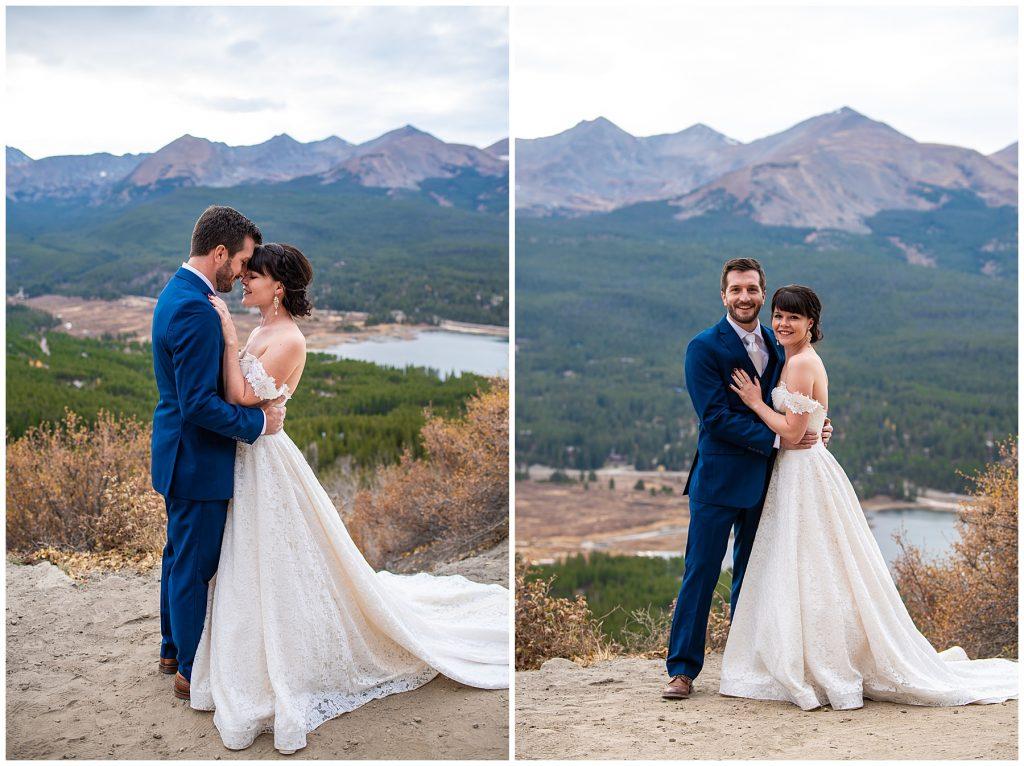 boreas pass elopement photos