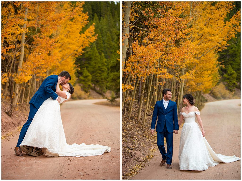 boreas pass autumn fall colors