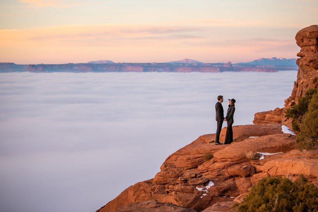moab elopement photographer utah