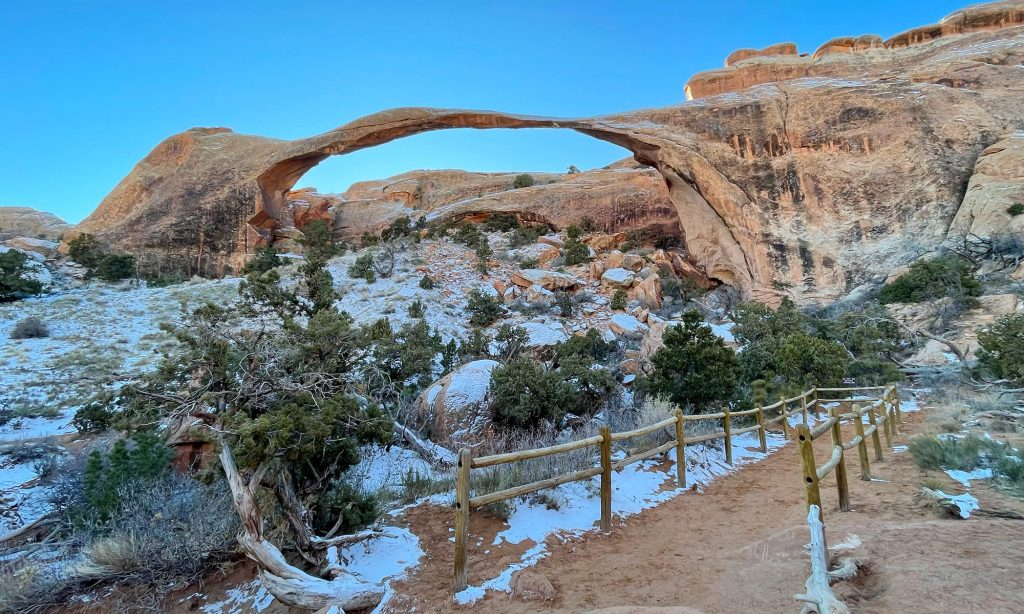 landscape arch utah elopement photographer