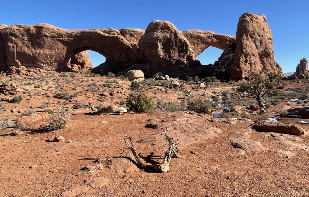 north and south window arches elopement national park