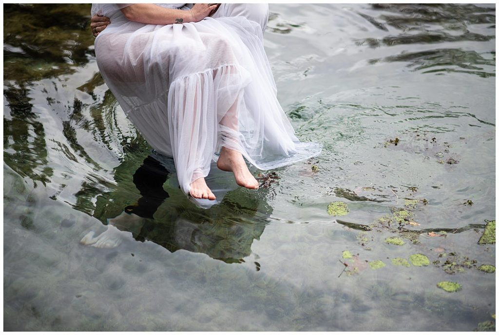 elopement photographer florida cold springs
