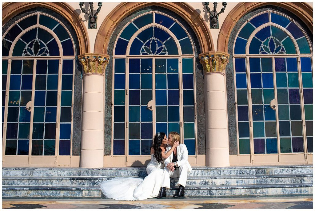 wedding at the ringling museum