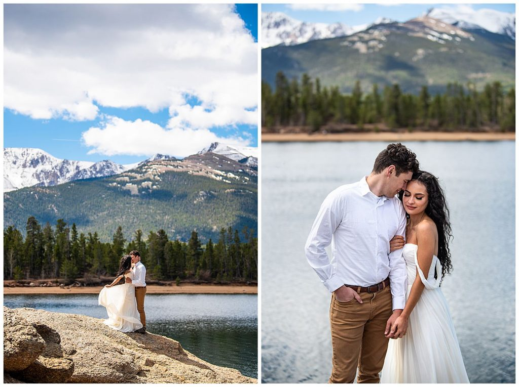 pikes peak elopement photos