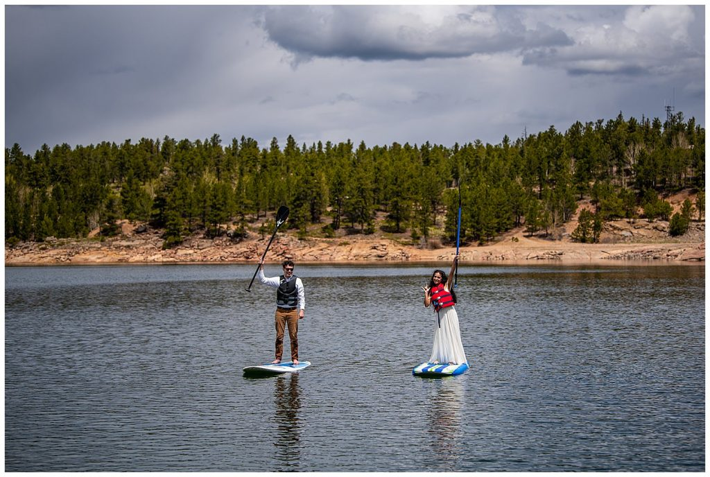 standup paddleboarding elopement