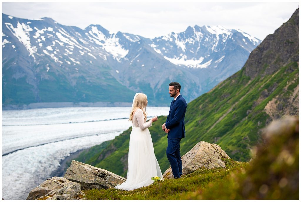 alaska glacier elopement anchorage