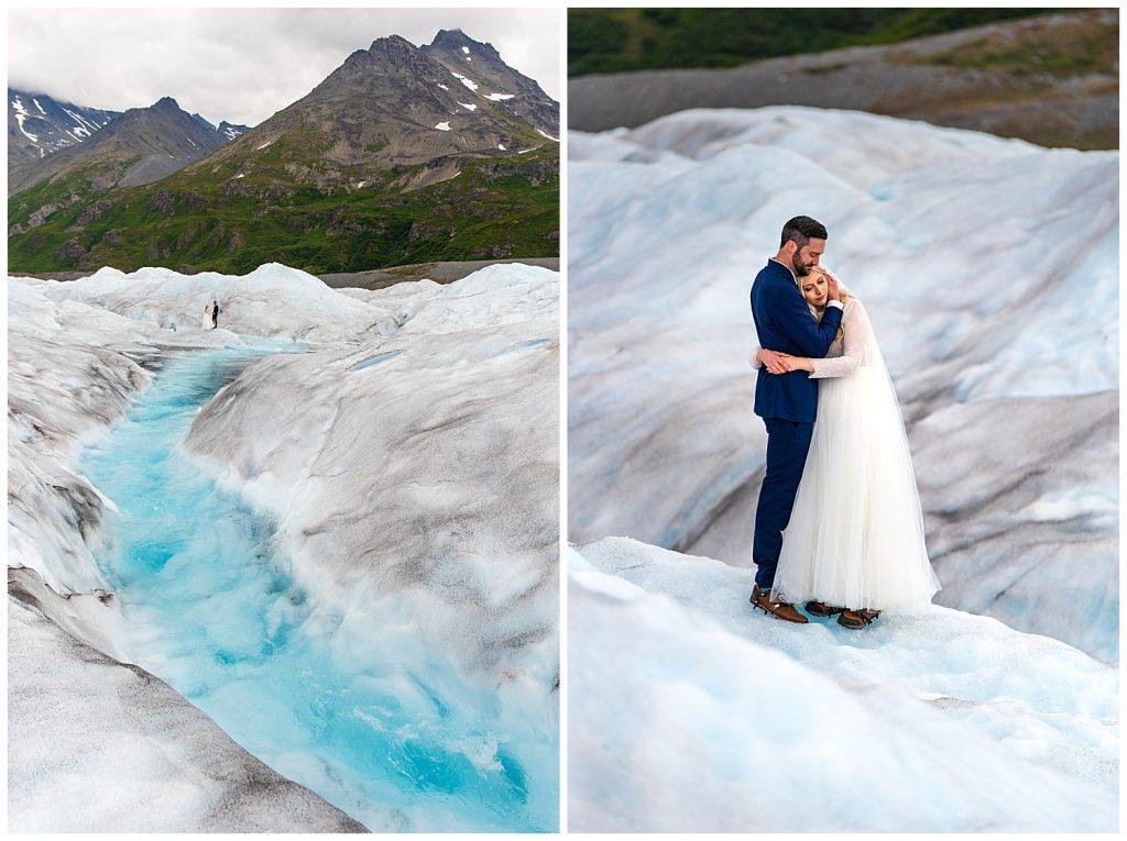 glacier helicopter elopement alaska