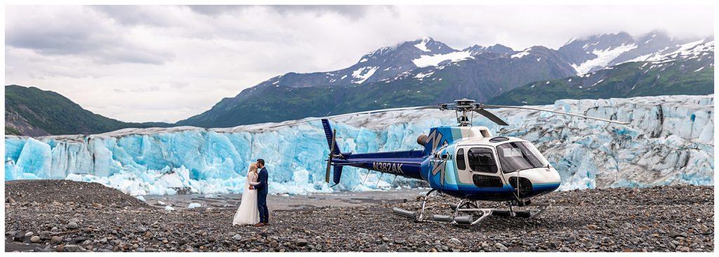alaska helicopter elopement photographer