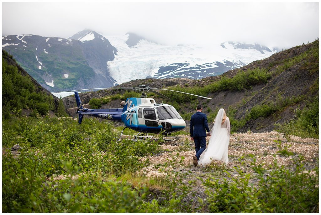 helicopter elopement photographer